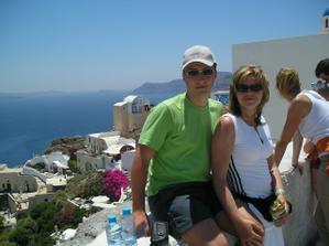 ...na výlete - ostrov Santorini...