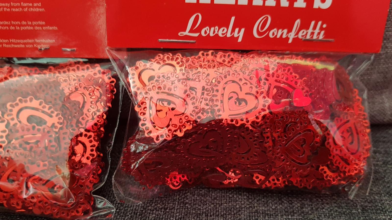 Srdce konfety - Obrázek č. 1