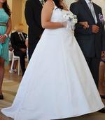 Svatební šaty 43-46, 46