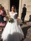 Svadobné šaty Ronald Joyce - Rosalinda, 36