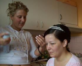 Příprava nevěsty