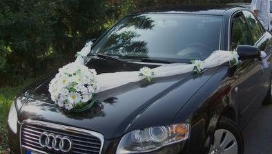 Auto nevěsty - vlastní výroba