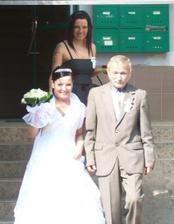 Nevěsta s otcem