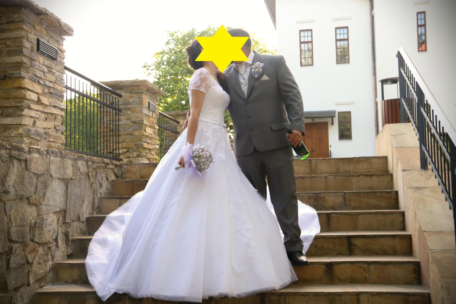 Romantické svadobné šatičky - Obrázok č. 4