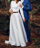 Svadobné šaty od návrhárky Janky Ľuptákovej, 36