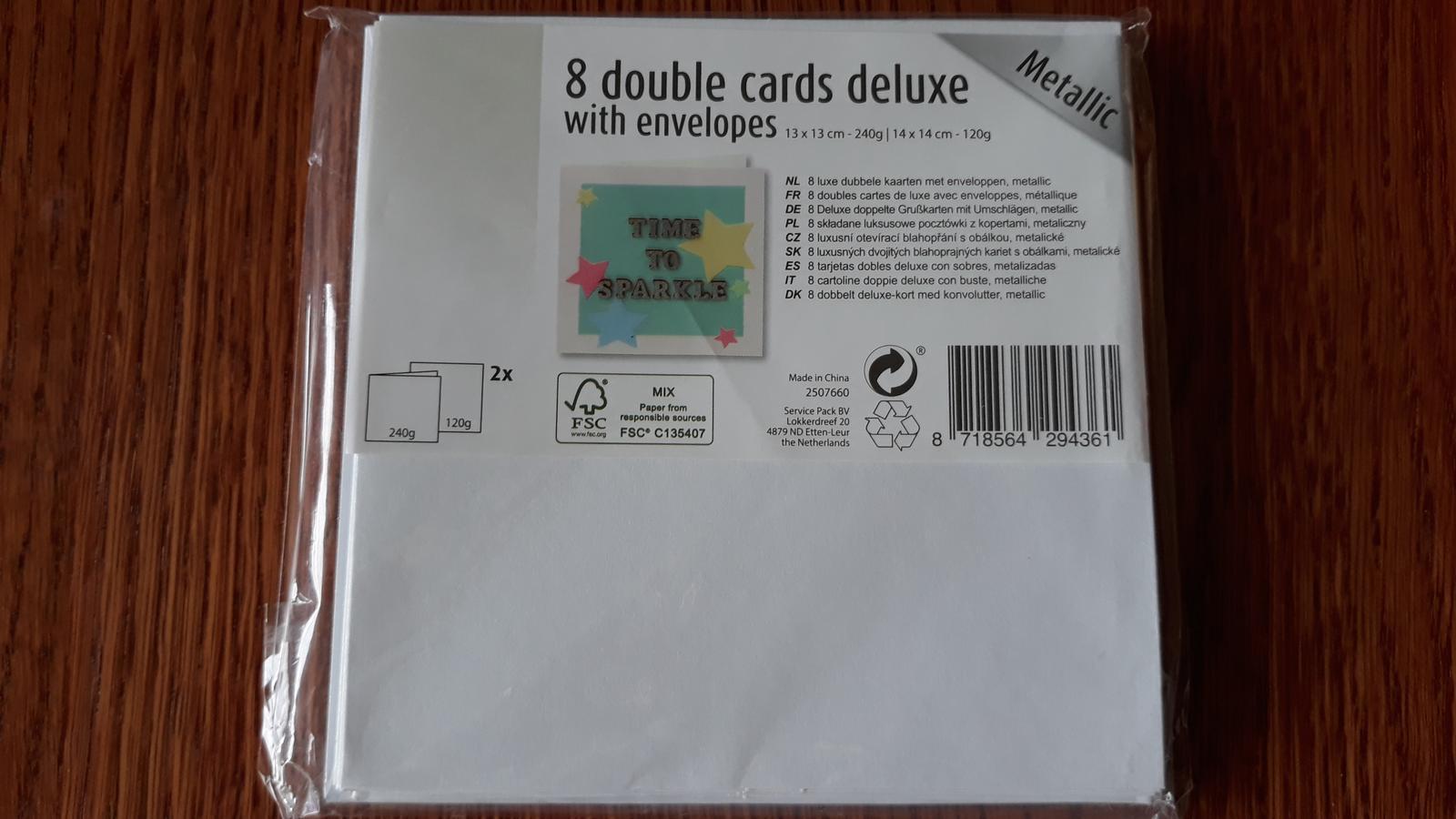 obálky + karty - Obrázok č. 1