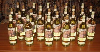 Svatební víno do výslužek - limitovaná edice :-)))