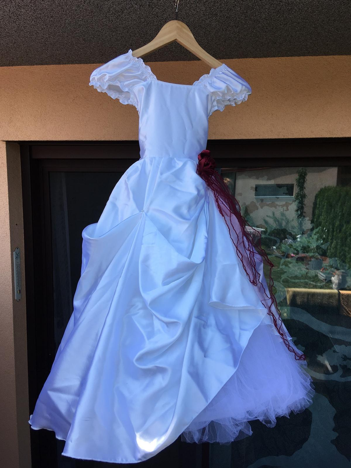 Šaty pro družičku vel.110/116 - Obrázek č. 1