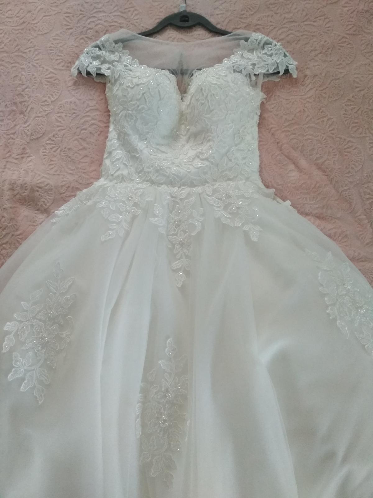 Svadobné šaty veľ.36-38 - Obrázok č. 3