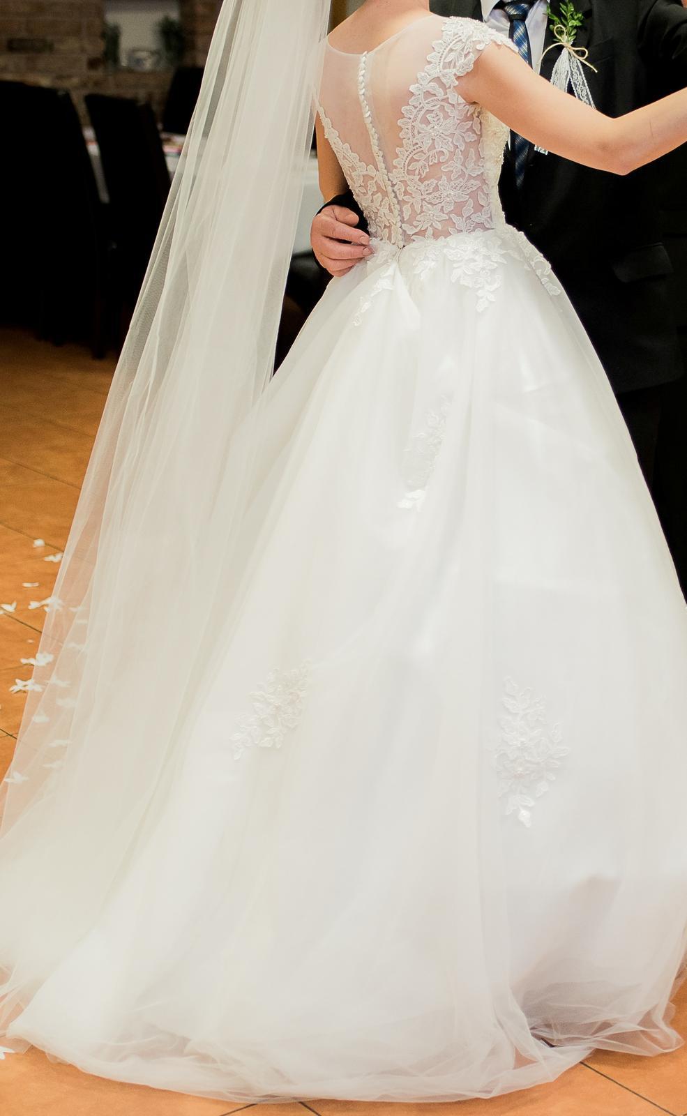 Svadobné šaty veľ.36-38 - Obrázok č. 4