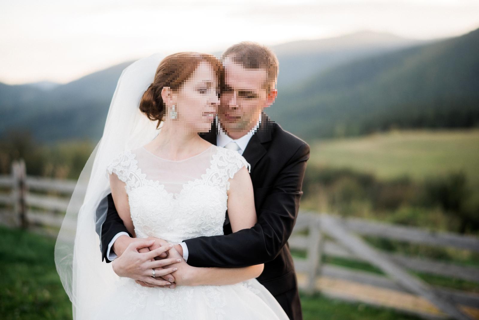 Svadobné šaty veľ.36-38 - Obrázok č. 1