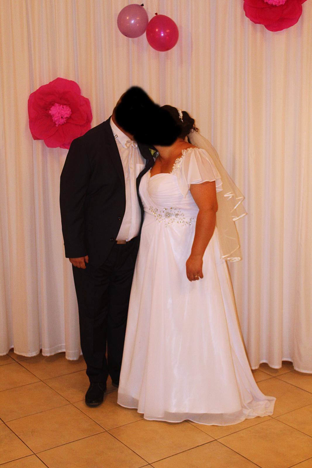 svadobné šaty 52 - Obrázok č. 2