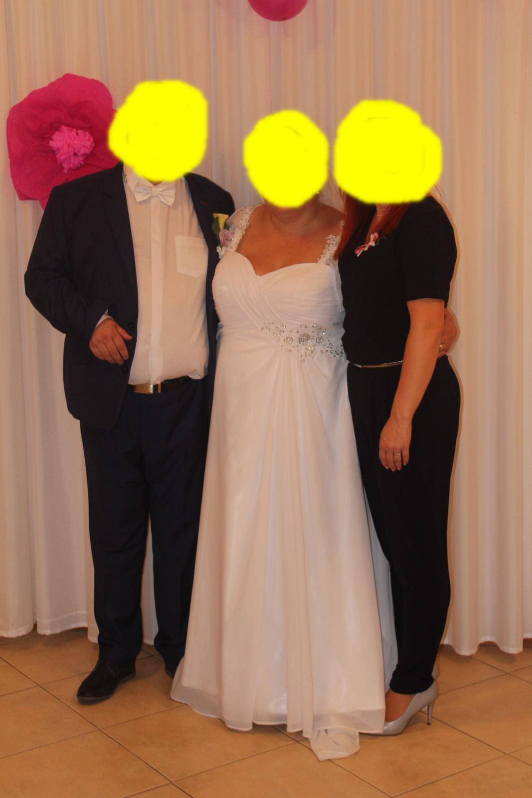 svadobné šaty 52 - Obrázok č. 3