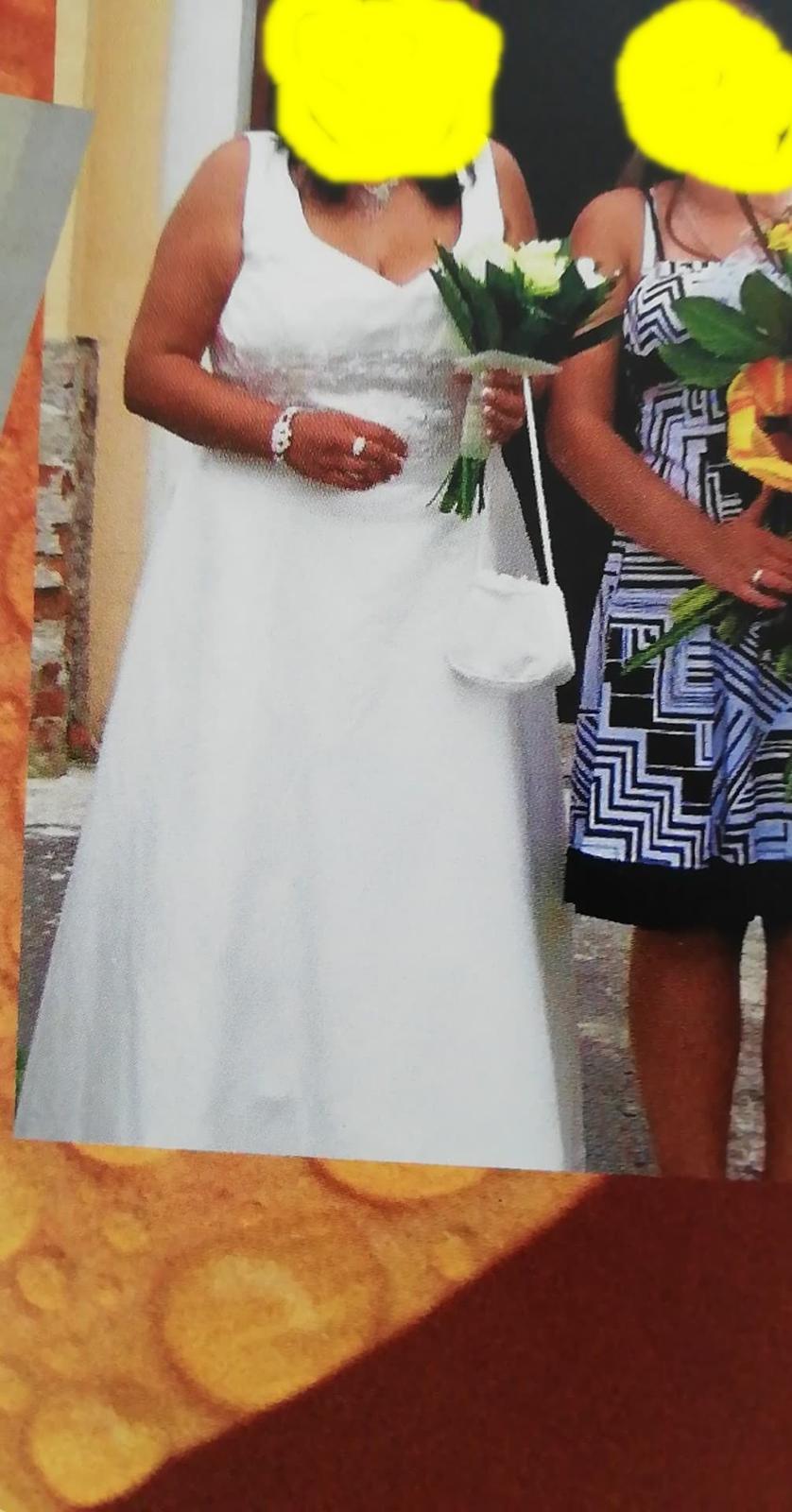 svadobné šaty 48 - Obrázok č. 2