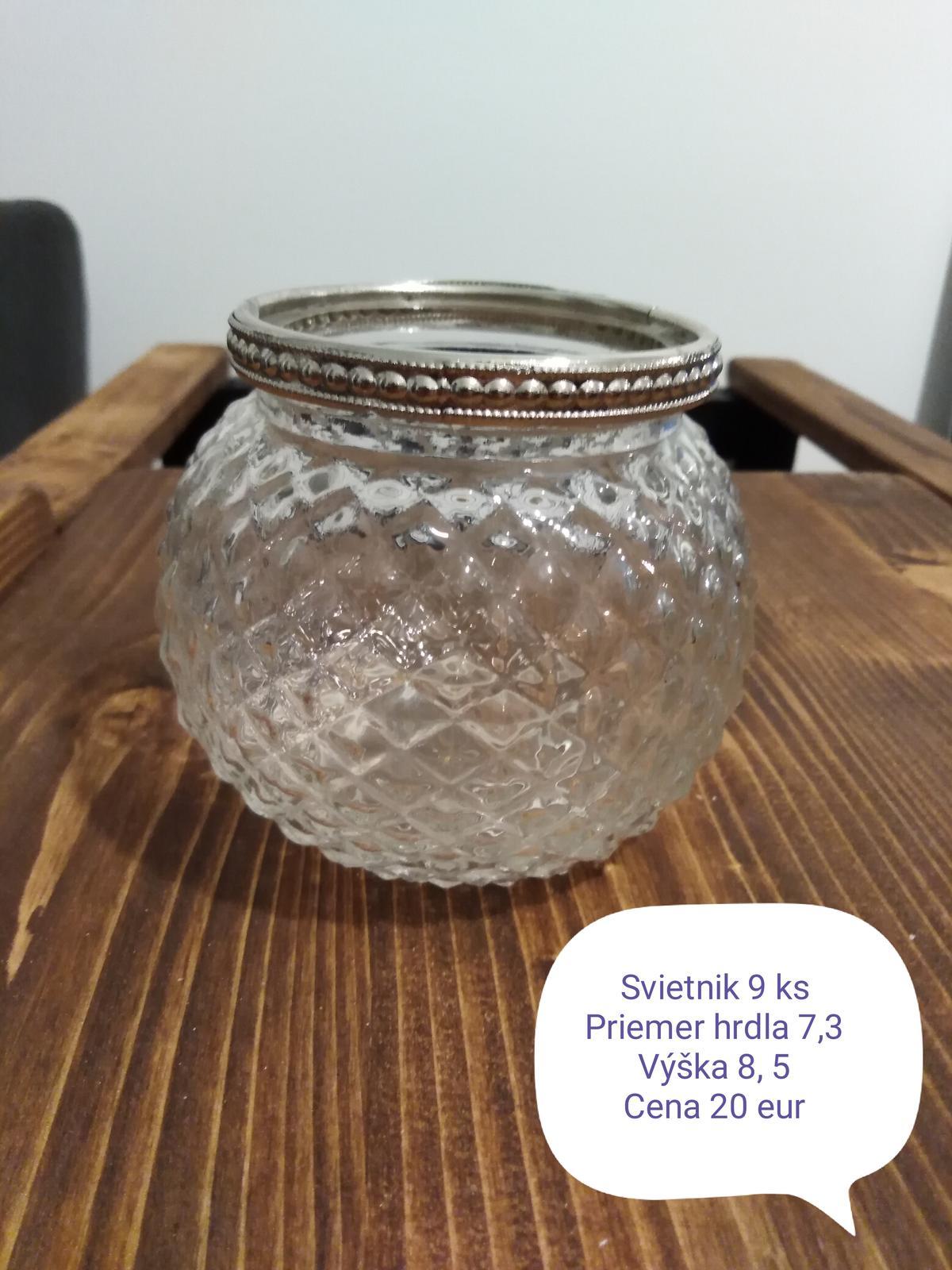 Svietnik, váza - Obrázok č. 1