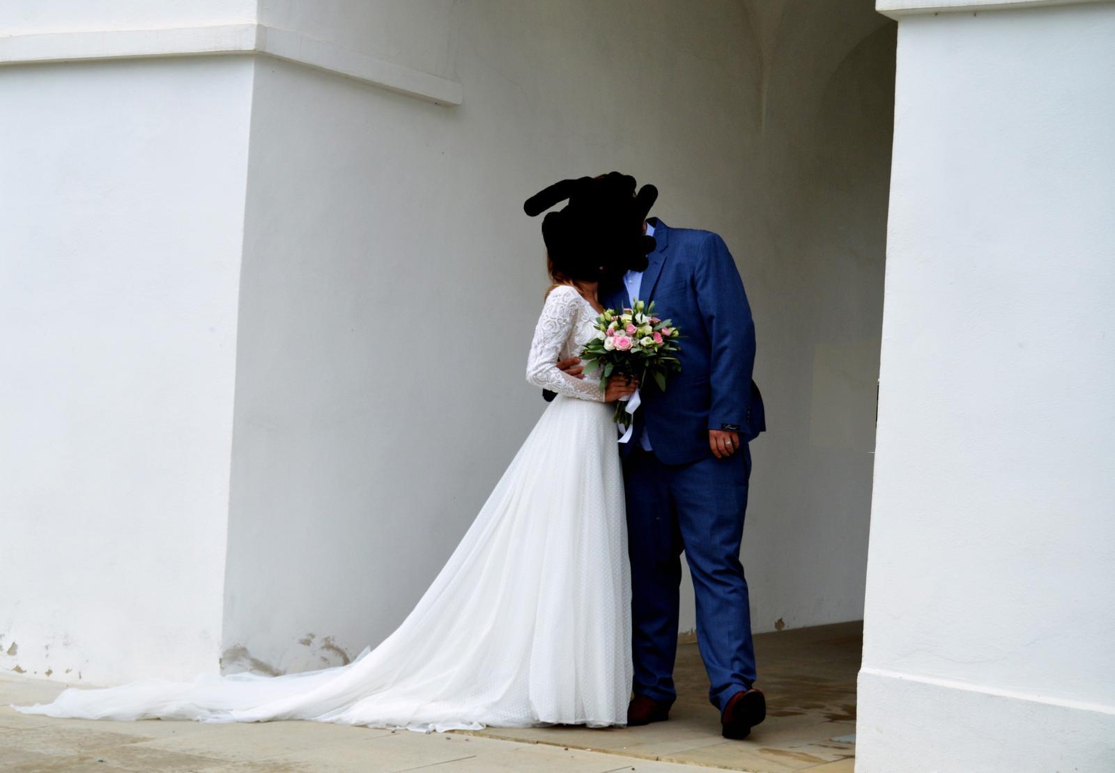 Svadobné šaty 34-38 - Obrázok č. 3