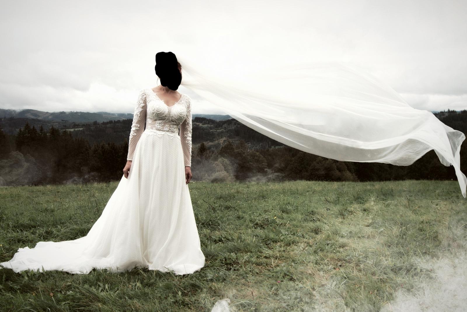 Svadobné šaty 34-38 - Obrázok č. 1