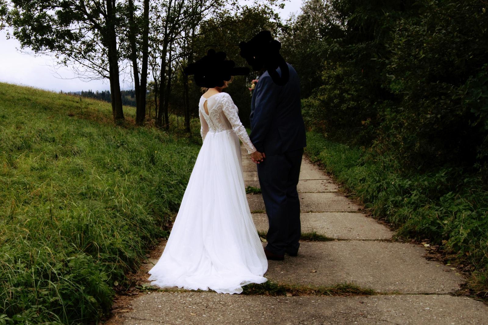 Svadobné šaty 34-38 - Obrázok č. 4