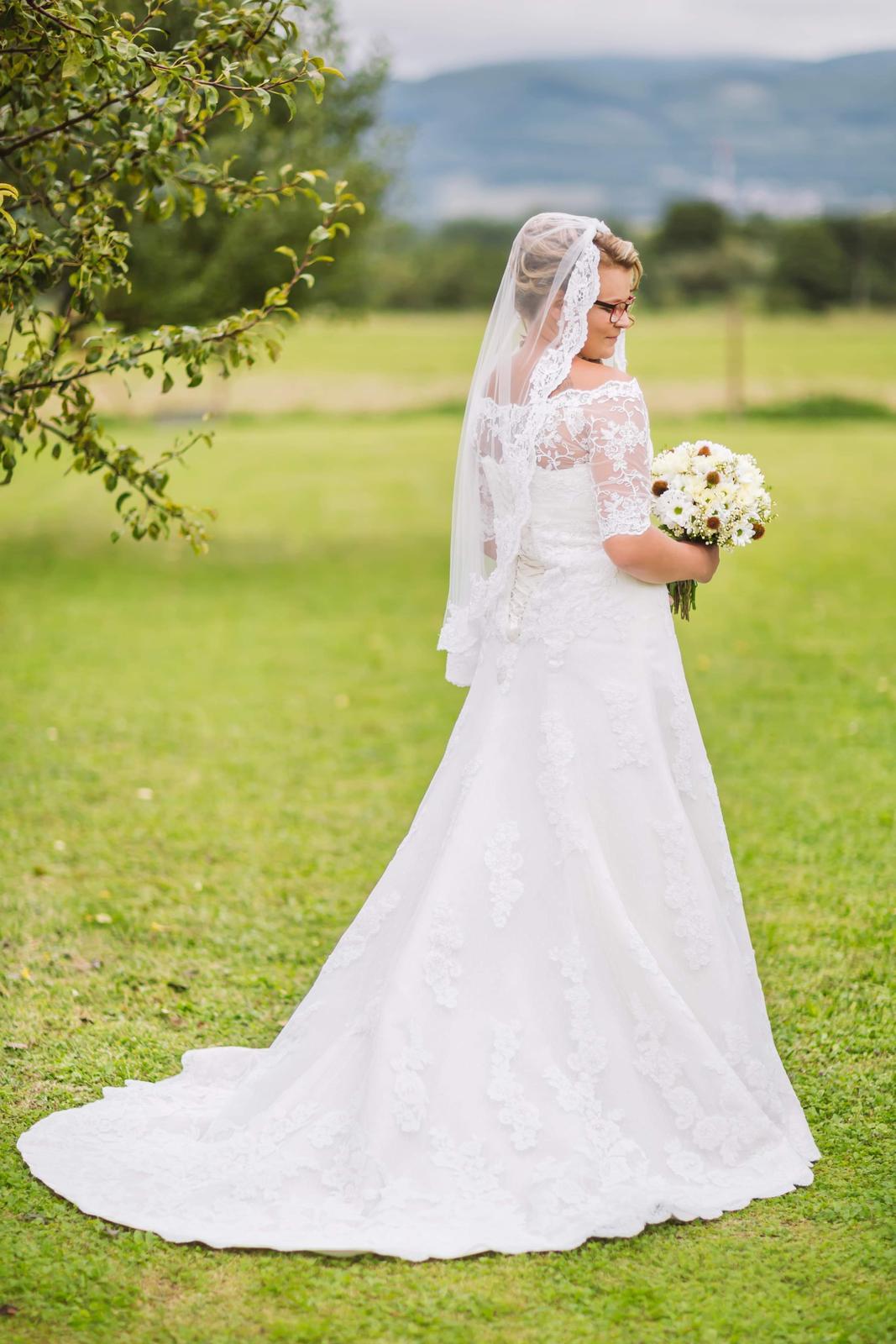 Svadobné šaty 40-44 - Obrázok č. 3