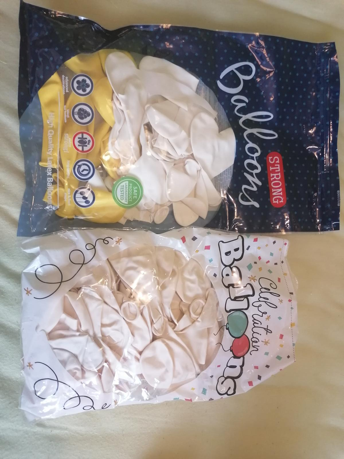 Bíložluté balónky a bublifuky - Obrázek č. 2