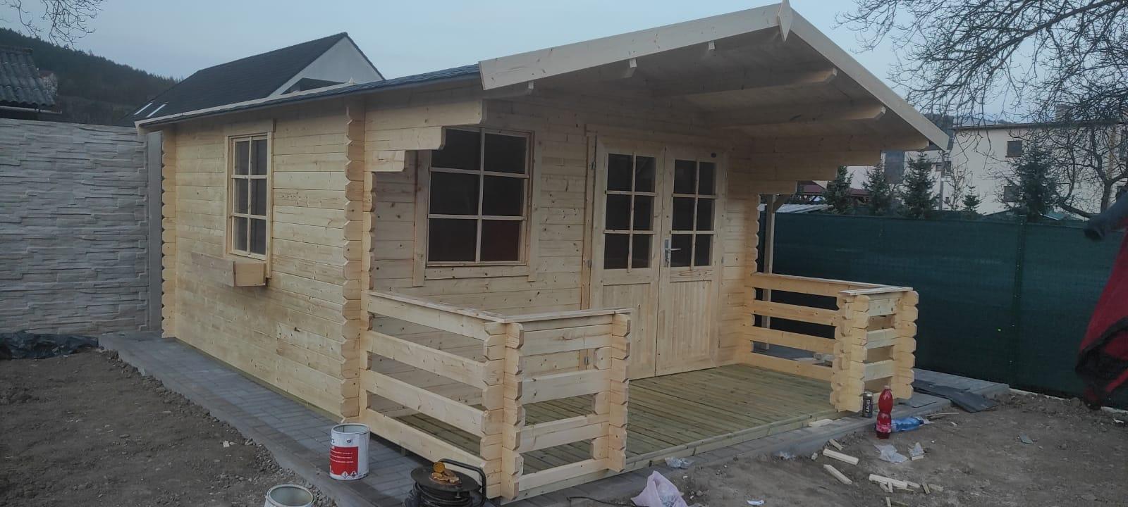 Predám záhradný domček Luna 3360x360 + terasa - Obrázok č. 1