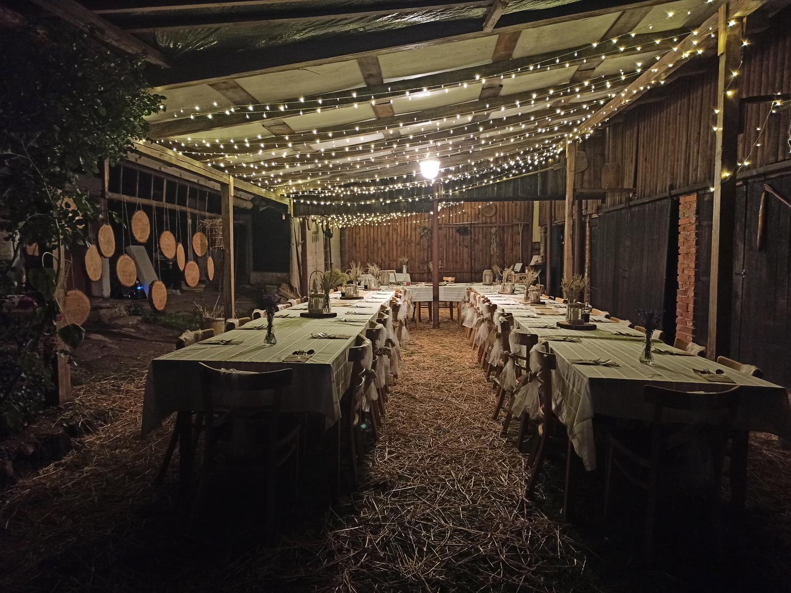 vesnická svatební výzdoba - Obrázek č. 1