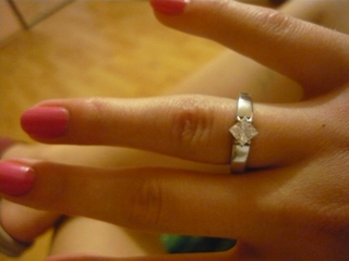 Martinka a Radko 4.9.2010 - A s týmto prstienkom na ruke som povedala môjmu drahému ÁNO