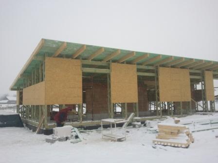Náš dom :) - južná stena príde na rad posledná