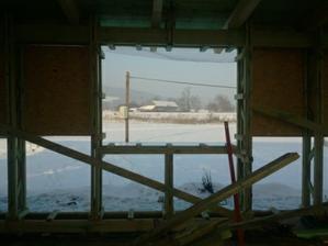 okno na pracovni