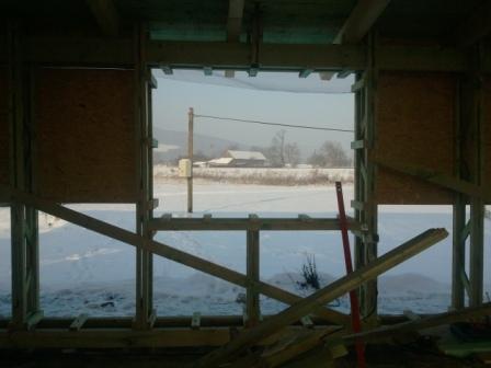 Náš dom :) - okno na pracovni
