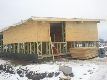 Náš dom :) - spálňa zvrchu obložená