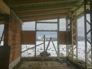príprava pre okno nad kuchynskou linkou