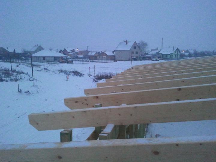 Náš dom :) - zima zimisko