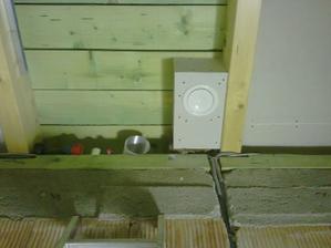 prívod čerstvého vzduchu do detskej izby na strope