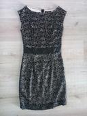 čipkovane šaty , M