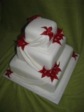překrásný dortík...