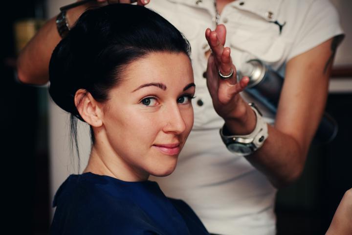 Jana{{_AND_}}Radek - nevesta zatim bez make-upu