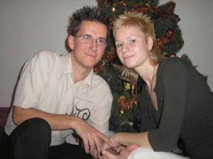 naše prvé spoločné vianoce 2006