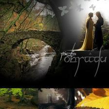 a místo? jednoznačně v lese, na mostku, na podzim...a že takových míst v Čr je!