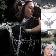 a co do vlasů? Jedině slavnostní elfí šperk - čelenku/korunku...také se dá zakoupit po internetu...