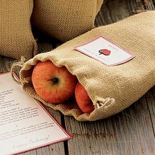...jako darek pro hosty-i s receptem na strudl od babicky:o)
