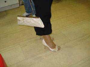 moje svadobne topanocky :)