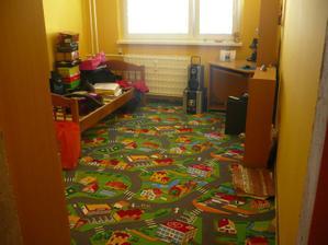 detská izba...ešte nevybalené veci :)