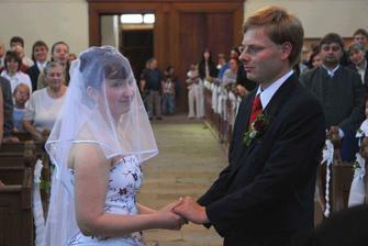 Skládání manželského slibu