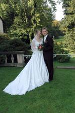 První novomanželská fota ze zámku
