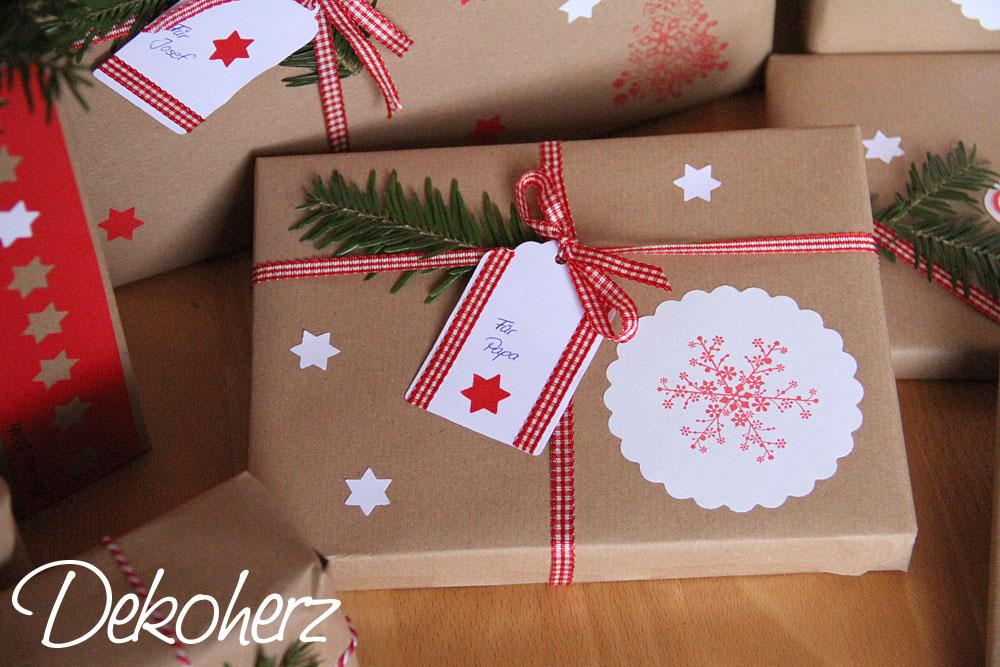 Vánoční tipy na výzdobu.. - krásně zabalené,asi se budu inspirovat :-) a ještě ušetřím :-)