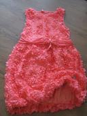 ružičkové šaty Mayoral, top stav, 104