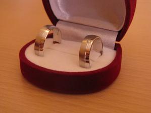 Naše nejkrásnější prstýnky .-)