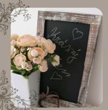 Tabule na vzkazy svatebčanů