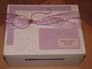 A k tomu krabici na přáníčka :-)